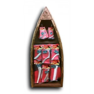 4 foot Canoe Display with Product